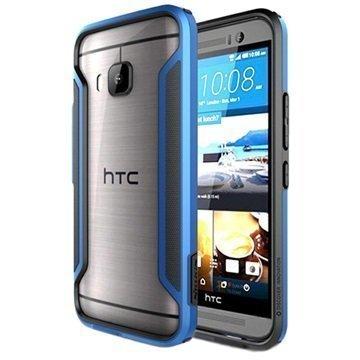 HTC One M9 Nillkin Armor-Border Series Suojapuskuri Sininen