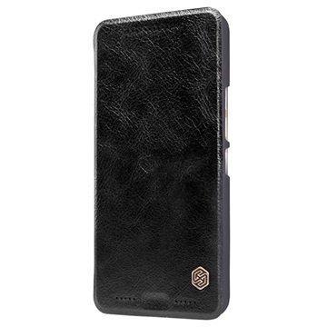 HTC One M9 Nillkin Qin Series Läppäkotelo Musta