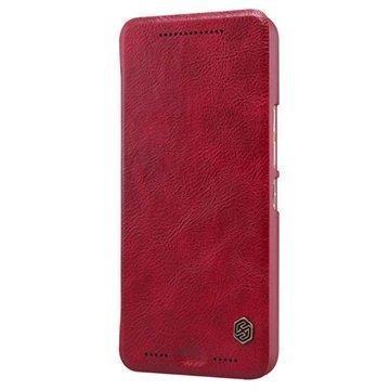 HTC One M9 Nillkin Qin Series Läppäkotelo Punainen
