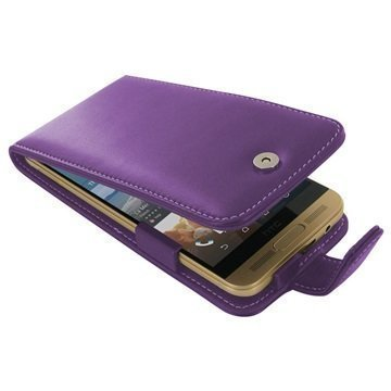 HTC One M9+ PDair Leather Case 3LHT9PF41 Violetti
