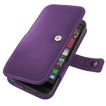 HTC One M9 PDair Leather Case 3LHTM9B41 Violetti