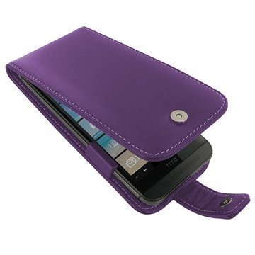 HTC One M9 PDair Leather Case 3LHTM9F41 Violetti