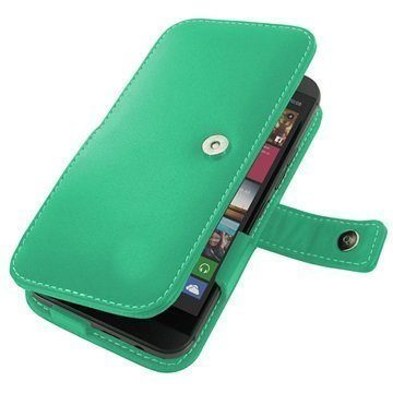 HTC One M9 PDair Leather Case 3QHTM9B41 Turkoosi