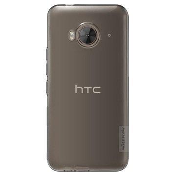 HTC One ME Nillkin Nature TPU Suojakuori Tummanharmaa