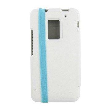 HTC One Max Incipio Watson Case White / Turqoise