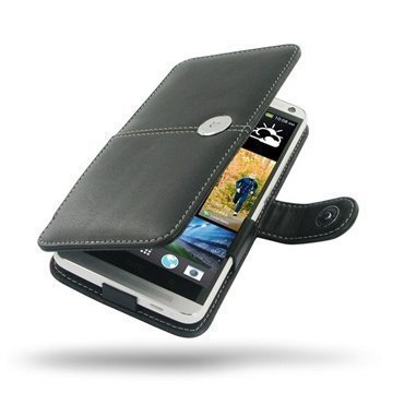 HTC One Max PDair Leather Case 3BHTONBX1 Musta