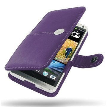 HTC One Max PDair Leather Case 3LHTONBX1 Violetti