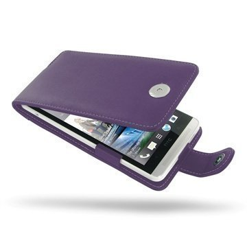 HTC One Max PDair Leather Case 3LHTONFX1 Violetti