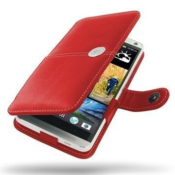 HTC One Max PDair Leather Case 3RHTONBX1 Punainen