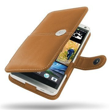 HTC One Max PDair Leather Case 3THTONBX1 Ruskea