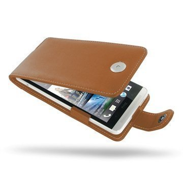HTC One Max PDair Leather Case 3THTONFX1 Ruskea