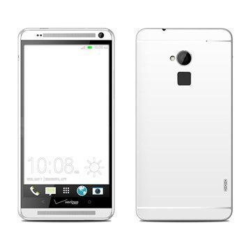 HTC One Max Solid State White Skin