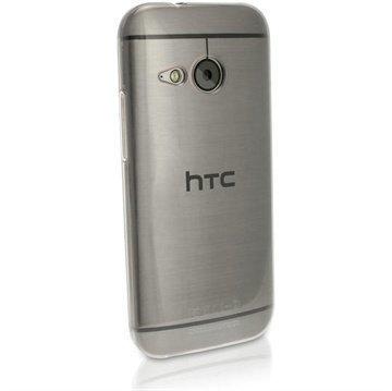 HTC One Mini 2 iGadgitz TPU-Suojakotelo Transparent Kirkas