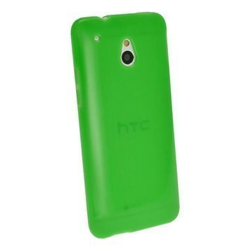 HTC One Mini iGadgitz Crystal TPU Case Green