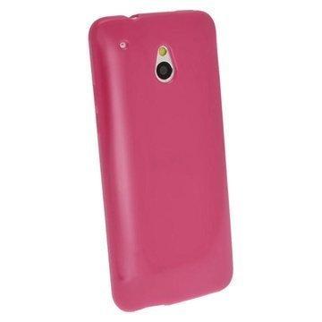 HTC One Mini iGadgitz Crystal TPU Case White