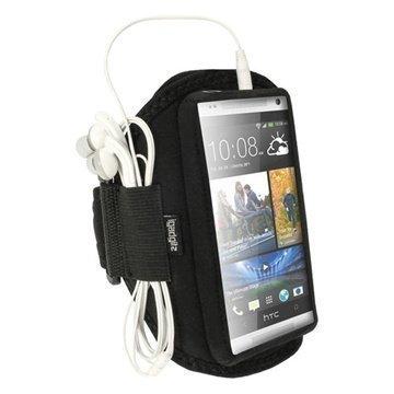 HTC One Mini iGadgitz Neopreeni Käsivarsikotelo Musta
