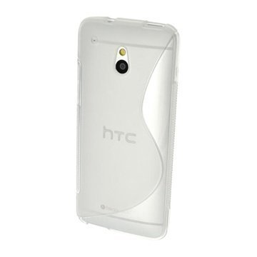 HTC One Mini iGadgitz S Line TPU Case White