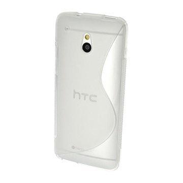 HTC One Mini iGadgitz S Line TPU Case White