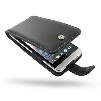 HTC One PDair Leather Case 3BHTE8F41 Musta