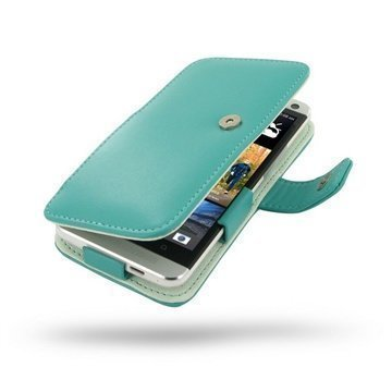 HTC One PDair Leather Case 3QHTE8B41 Turkoosi