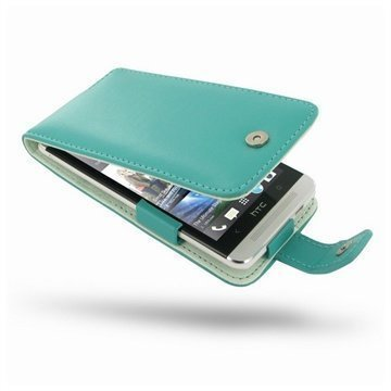 HTC One PDair Leather Case 3QHTE8F41 Turkoosi