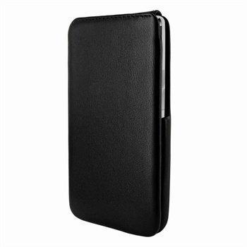 HTC One Piel Frama iMagnum Nahkakotelo Musta