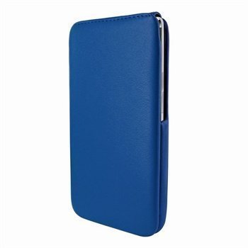 HTC One Piel Frama iMagnum Nahkakotelo Sininen