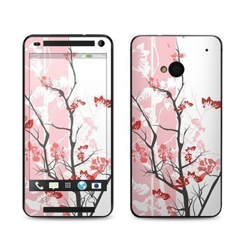 HTC One Pink Tranquility Skin