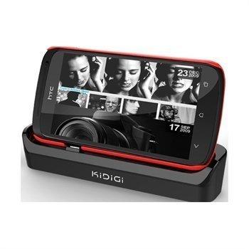 HTC One S KiDiGi Cover-Mate USB-Pöytälaturi