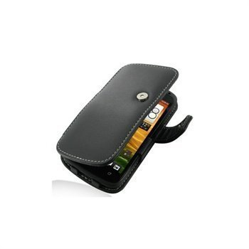 HTC One S PDair Leather Case 3BHTSSB41 Musta