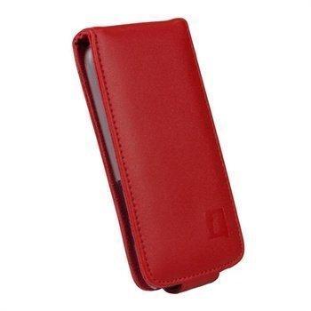 HTC One S iGadgitz Nahkakotelo Punainen