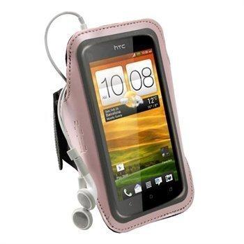HTC One S iGadgitz Neopreeni Käsivarsikotelo Pinkki