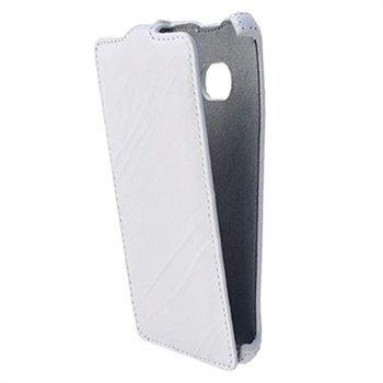 HTC One StarCase Roma Linea Läpällinen Nahkakotelo Valkoinen