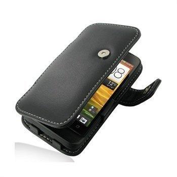 HTC One V PDair Leather Case 3BHTNVB41 Musta