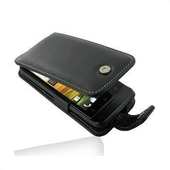 HTC One V PDair Leather Case 3BHTNVF41 Musta
