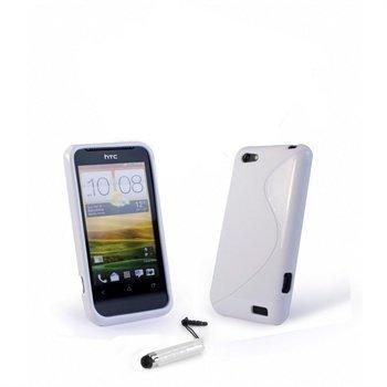 HTC One V Tuff-Luv E-volve Wave Smartphone Kit White