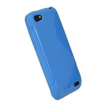 HTC One V iGadgitz Dual Tone TPU-Napsautuskuori Sininen