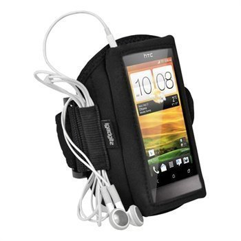 HTC One V iGadgitz Neoprene Armband Black