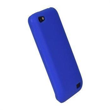 HTC One V iGadgitz Silikonisuojus Sininen
