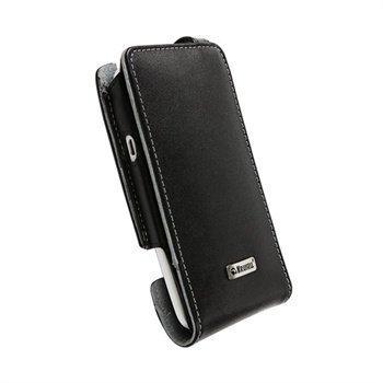 HTC One X One X+ Krusell Orbit Flexi Nahkakotelo Musta / Harmaa