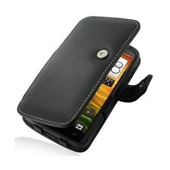 HTC One X One X+ PDair Leather Case 3BHTNXB41 Musta