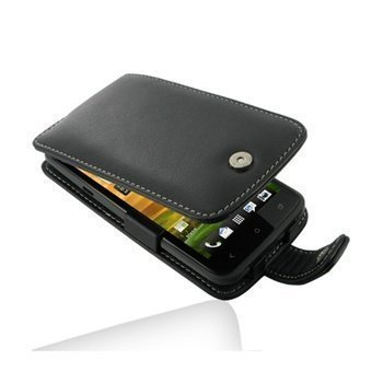 HTC One X One X+ PDair Leather Case 3BHTNXF41 Musta