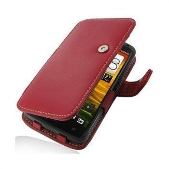 HTC One X One X+ PDair Leather Case 3RHTNXB41 Punainen