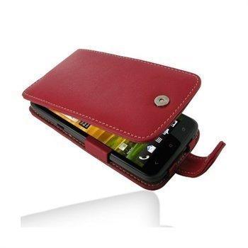 HTC One X One X+ PDair Leather Case 3RHTNXF41 Punainen