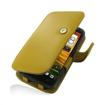 HTC One X One X+ PDair Leather Case 3YHTNXB41 Keltainen