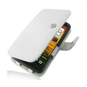 HTC One X One X+ PDair Nahkakotelo Valkoinen