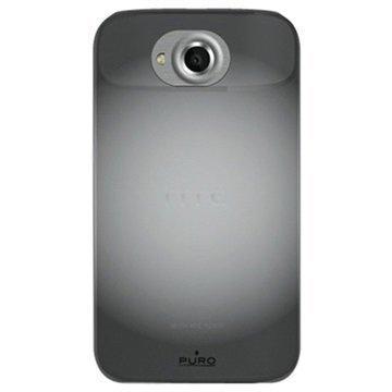 HTC One X One X+ Puro Silicone Case Black
