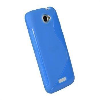 HTC One X One X+ iGadgitz Dual Tone TPU Napsautuskuori Sininen