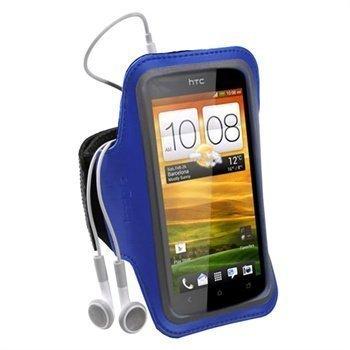 HTC One X One X+ iGadgitz Neopreeni Käsivarsikotelo Sininen