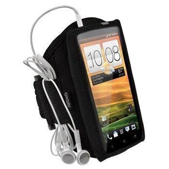 HTC One X One X+ iGadgitz Neoprene Armband Black